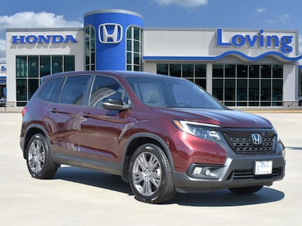 Featured Used 2019 Honda Passport EX-L FWD SUV for sale near you in Lufkin, TX