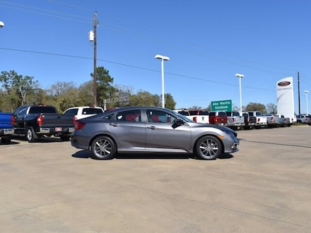 Featured Used 2019 Honda Civic EX Sedan for sale near you in Lufkin, TX