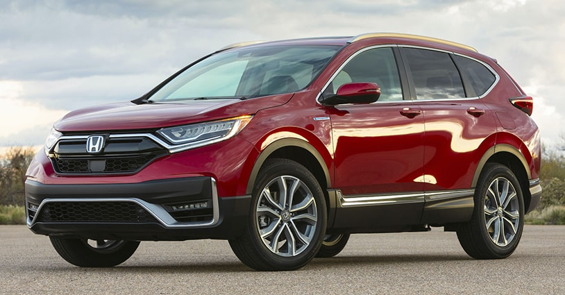 New 2021 CR-V Loving Honda