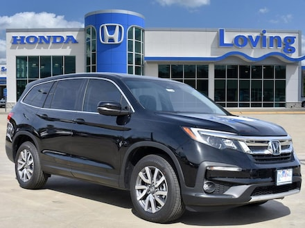 Featured New 2020 Honda Pilot EX-L FWD SUV for sale near you in Lufkin, TX