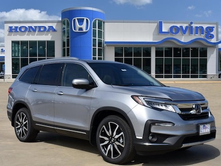 Featured New 2020 Honda Pilot Touring 8 Passenger FWD SUV for sale near you in Lufkin, TX