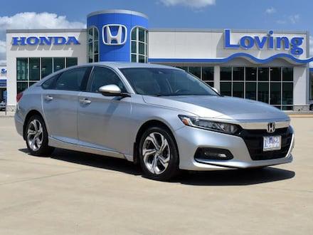 Featured Used 2018 Honda Accord EX-L Sedan for sale near you in Lufkin, TX