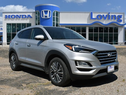 Featured 2020 Hyundai Tucson Limited SUV for sale near you in Lufkin, TX