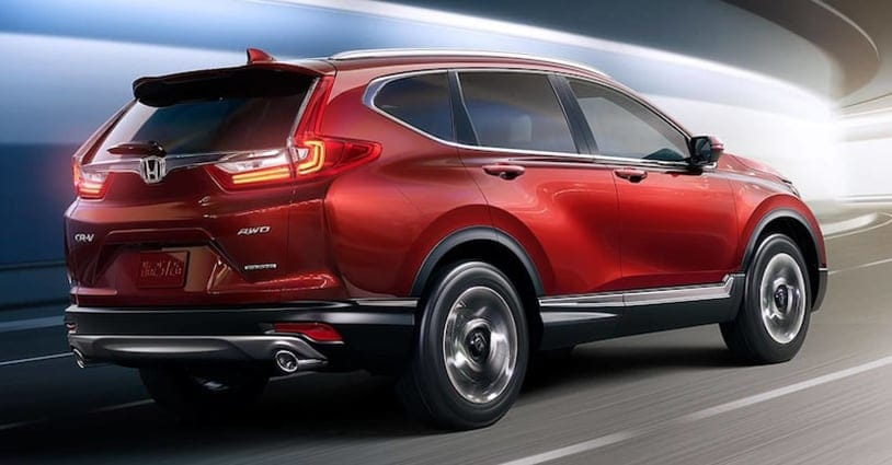 New 2019 CR-V Loving Honda
