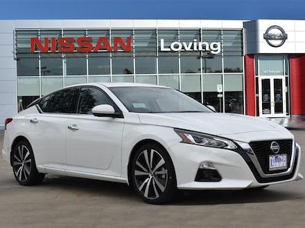 Featured New 2020 Nissan Altima 2.0 Platinum Sedan for sale near you in Lufkin, TX