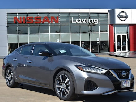 Featured New 2020 Nissan Maxima 3.5 SV Sedan for sale near you in Lufkin, TX