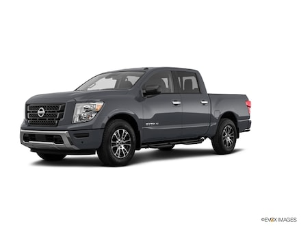 Featured New 2021 Nissan Titan SV Truck Crew Cab for sale near you in Lufkin, TX