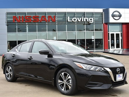 Featured New 2020 Nissan Sentra SV Sedan for sale near you in Lufkin, TX