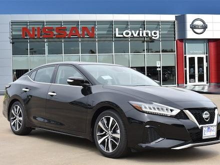 Featured New 2020 Nissan Maxima 3.5 SL Sedan for sale near you in Lufkin, TX