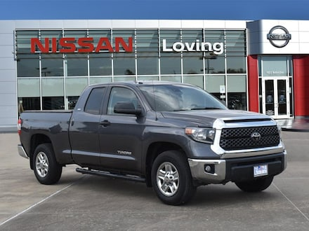Featured Pre Owned 2018 Toyota Tundra SR5 4.6L V8 Truck Double Cab for sale near you in Lufkin, TX