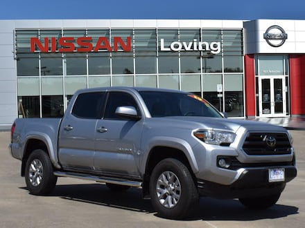 Featured Pre Owned 2019 Toyota Tacoma SR5 V6 Truck Double Cab for sale near you in Lufkin, TX