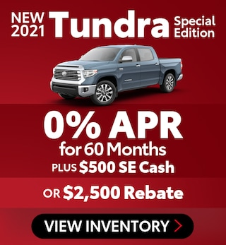 New 2021 Tundra Special Edition
