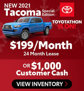 New 2021 Tacoma Special Edition