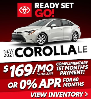 New 2021 Corolla LE