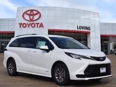 New 2021 Toyota Sienna LE 8 Passenger Van Passenger Van in Lufkin, TX