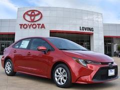 New 2020 Toyota Corolla LE Sedan in Lufkin, TX