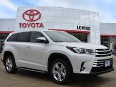 New 2019 Toyota Highlander Hybrid Limited V6 SUV in Lufkin, TX