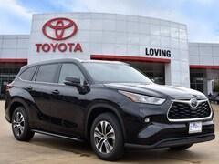 New 2020 Toyota Highlander XLE SUV in Lufkin, TX