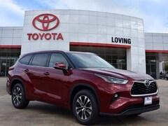 New 2021 Toyota Highlander XLE SUV in Lufkin, TX