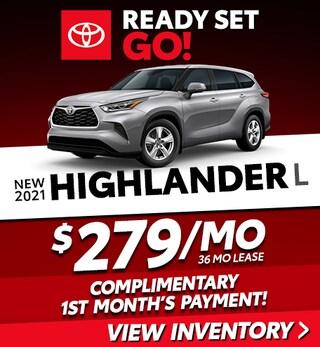 New 2021 Highlander L