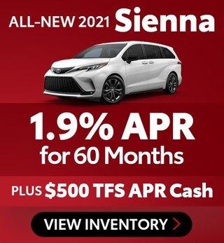 All-New 2021 Sienna