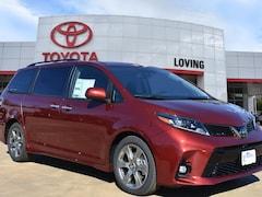 New 2019 Toyota Sienna SE 8 Passenger Van in Lufkin, TX