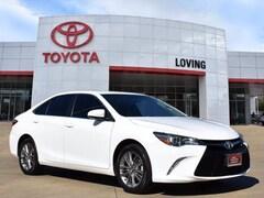 Certified 2017 Toyota Camry SE Sedan in Lufkin, TX