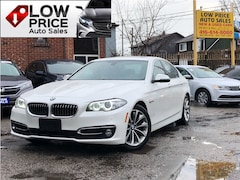 2015 BMW 528I xDrive*MSportUpoGrades*Navi*Camera*HarmonKardon8 Sedan