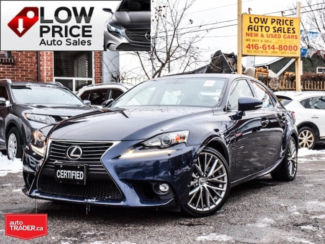 2015 LEXUS IS 250 AllPowerOpti*Htd&CoolSeats*Camera*Warranty* Sedan