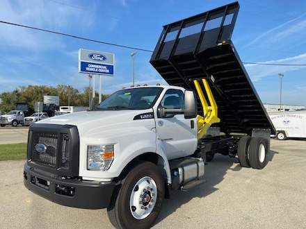 2022 Ford F-650-750 F-650 SD Diesel Straight Frame Commercial-truck 3726