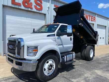 2021 Ford F-650-750 F-650 SD Diesel Straight Frame Commercial-truck 3719