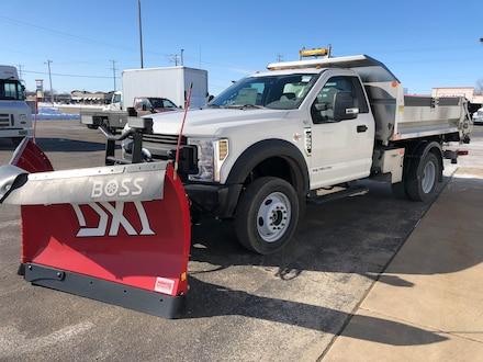 2019 Ford F550 SD XL 9' Dump 3539
