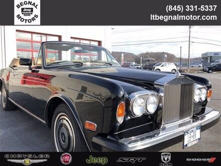 1986 Rolls Royce Corniche II Convertible