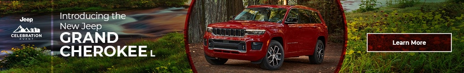 Introducing the New Jeep Grand Cherokee L