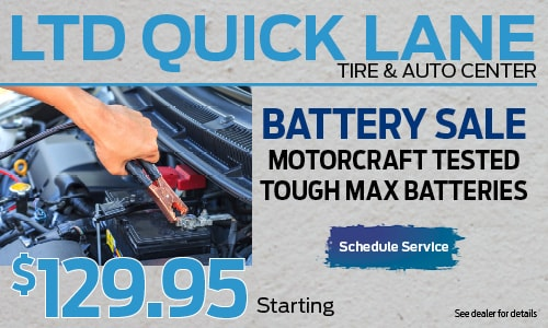 Battery Sale MotorCraft Tested Tough Max Batteries