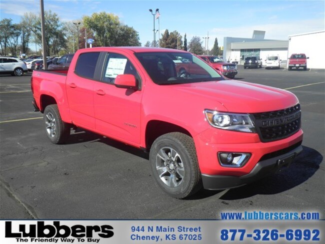 Lubbers Cheney Ks >> New 2019 Chevrolet Colorado For Sale At Lubbers Cars Vin