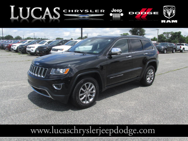 Certified Pre Owned 2015 Jeep Grand Cherokee Limited SUV In Lumberton NJ