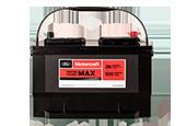 MOTORCRAFT® TESTED TOUGH® MAX BATTERIES STARTING AT $129.95 MSRP.*