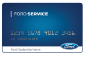 GET A $25 REBATE BY MAIL WHEN YOU USE THE FORD SERVICE CREDIT CARD