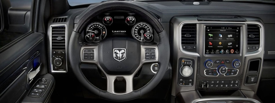 2017 ram 1500 interior comparison