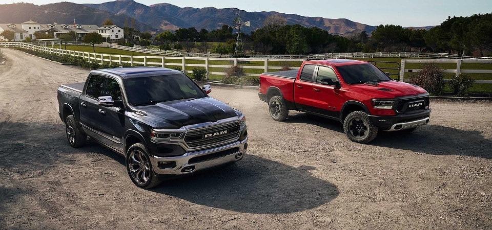 test drive the 2019 ram 1500 trims