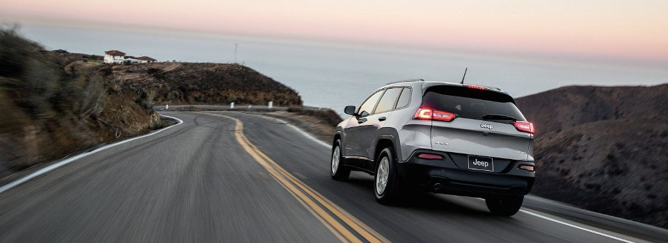 test drive the new jeep cherokee