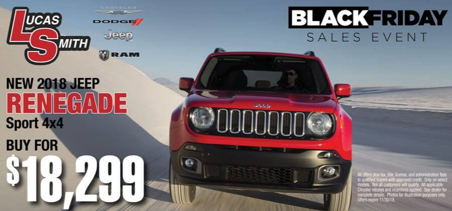 New 2018 Jeep Renegade | Buy for $18,299