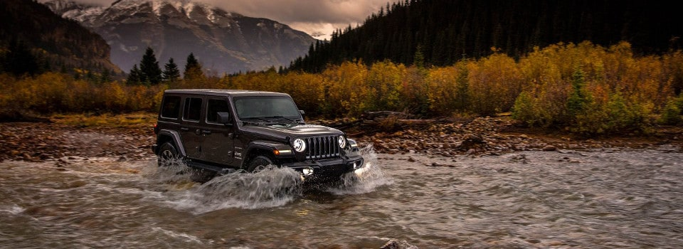jeep wrangler 4x4 systems