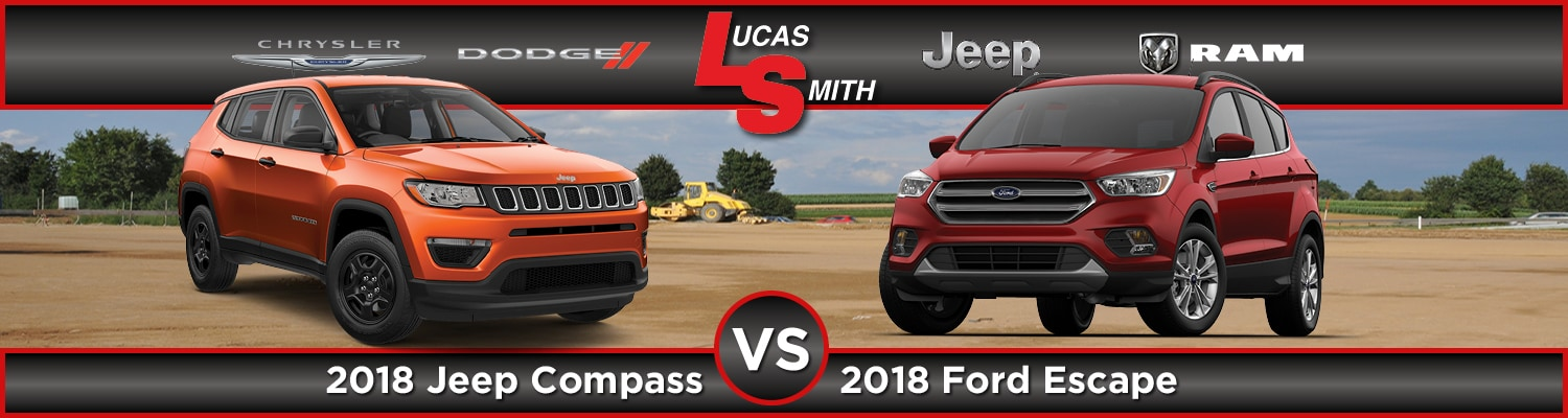 Jeep Compass vs. Ford Escape