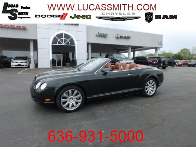 Used 2008 Bentley Continental GT AWD GT  Convertible For Sale Festus, Missouri