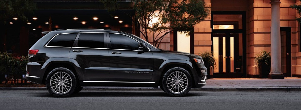 2018 jeep grand cherokee trims