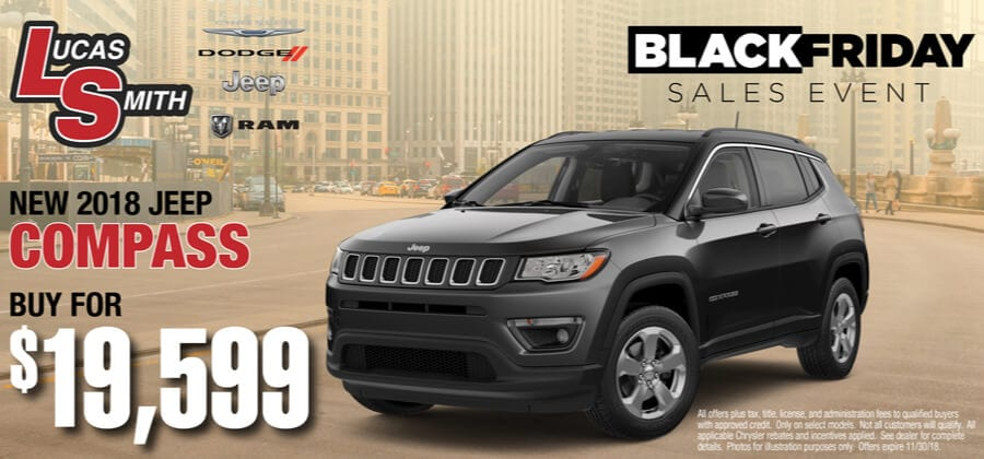 New 2018 Jeep Compass | Buy for $19,599