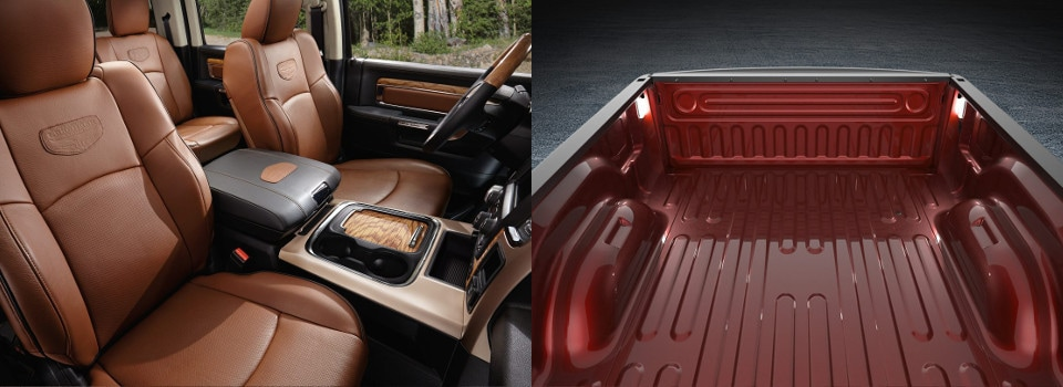 2018 ram 1500 interior and exterior image