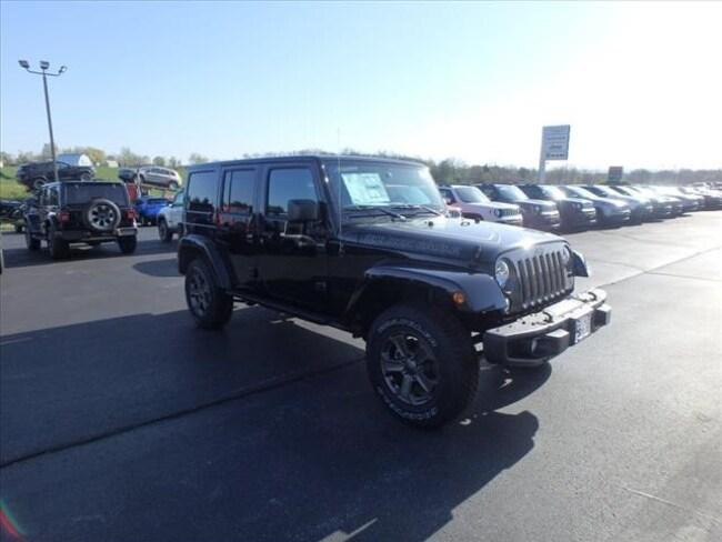 New 2018 Jeep Wrangler JK UNLIMITED GOLDEN EAGLE 4X4 Sport Utility For Sale Festus, Missouri